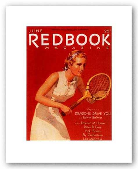 Redbook III, June 1933 by Redbook