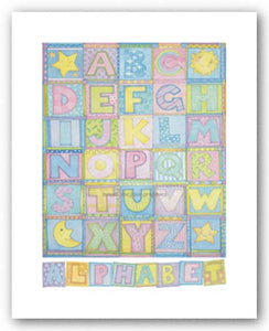 Alphabet by Cheryl Piperberg