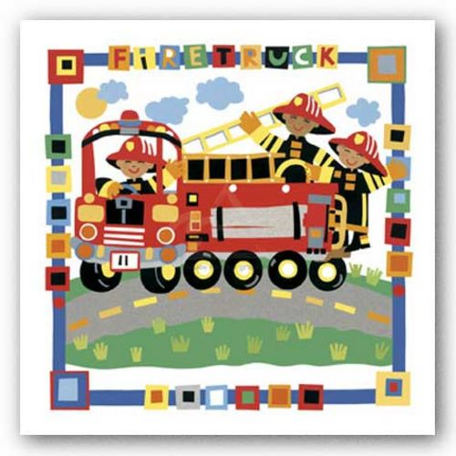 Fire Truck by Cheryl Piperberg