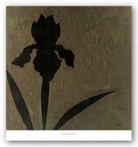 Iris (Gold Foil) by Robert Charon