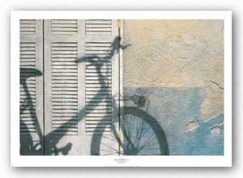 Bicycle Arriving by Josep Cisquella