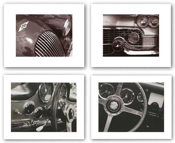 Steering Wheel-Dashboard-Hood-Grille Set by John Maggiotto
