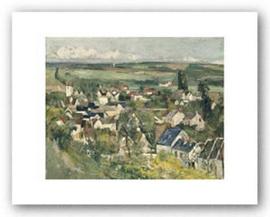 Auvers, Panoramic View, 1873/75 by Paul Cezanne