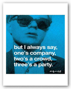 But I Always Say by Andy Warhol