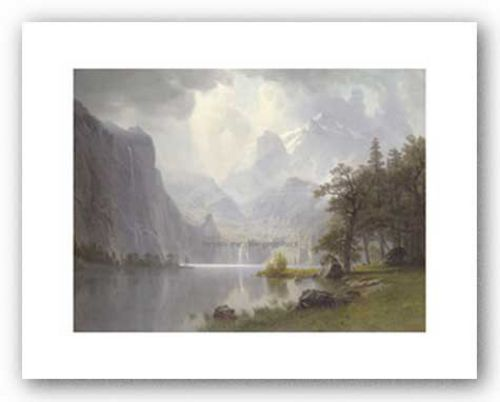 In the Mountains, 1867 by Albert Bierstadt