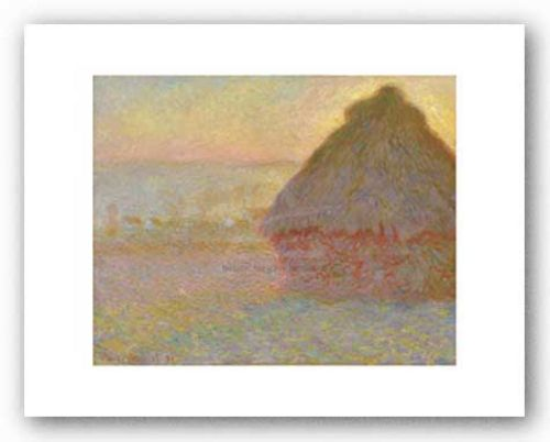 Grainstack (Sunset), 1891 by Claude Monet