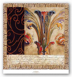 Antique French Manuscript II by Liz Jardine