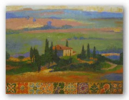 Tuscany Hill by Liz Jardine