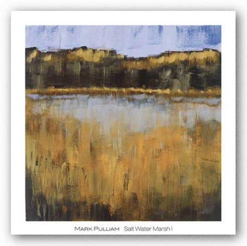 Salt Water Marsh I by Mark Pulliam