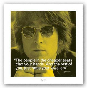 Quote - John Lennon - Cheaper Seats
