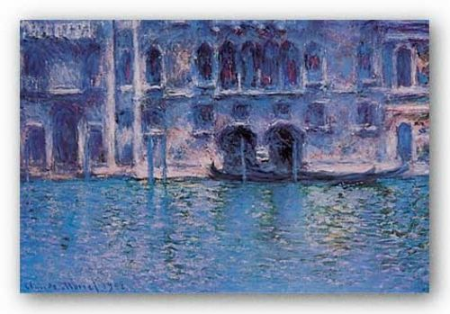 Venice Palazza Da Mula by Claude Monet