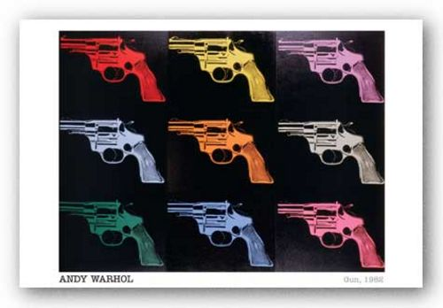 Gun by Andy Warhol