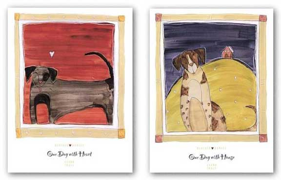 One Dog with House-One Dog with Heart Set by Heather Ramsey
