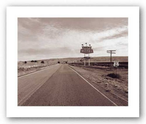 Route 66 Sands Motel by Mark Roth