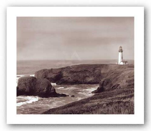 Yaquina Light by Mark Roth