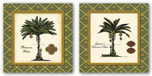 Ghiberie's Banana Palm and Banana Palm (Green) Set by Karl Rattner