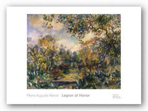 Landscape at Beaulieu, ca. 1893  by Pierre-Auguste Renoir