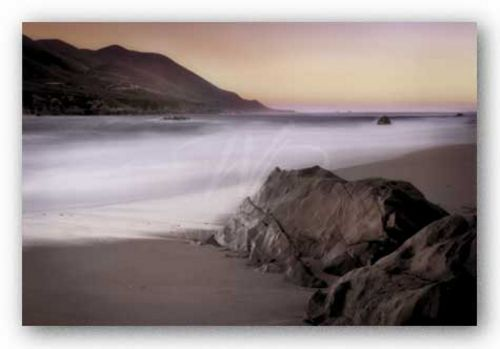 Garrapata Beach by John Rehner