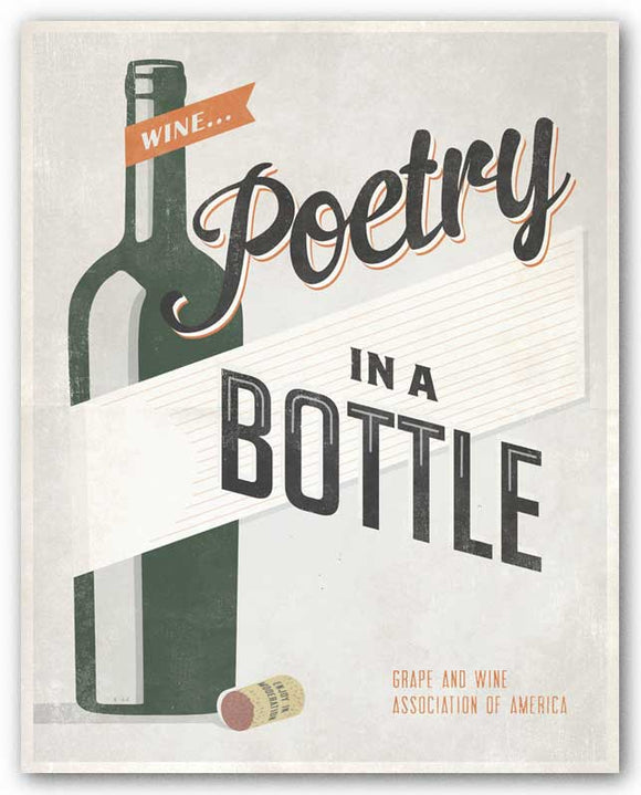 Poetry in a Bottle by Luke Stockdale