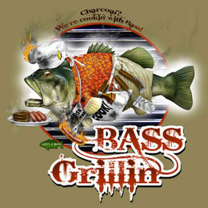 Bass Grillin by Jim Baldwin