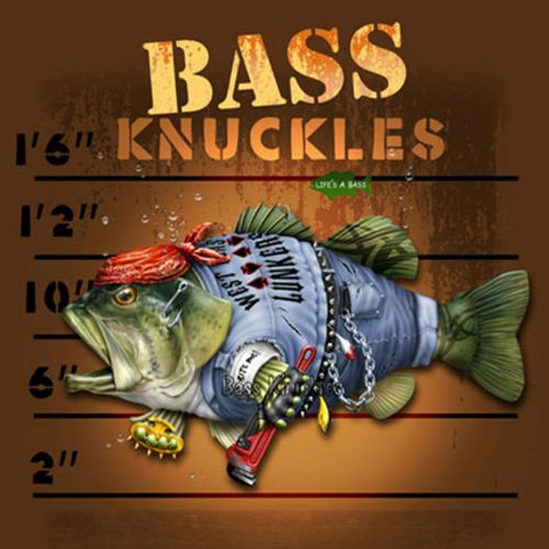 Bass Knuckles by Jim Baldwin