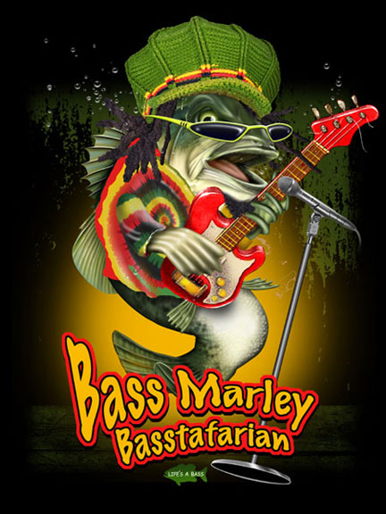 Bass Marley by Jim Baldwin