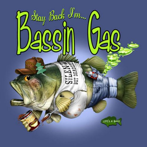 Bassin Gas by Jim Baldwin
