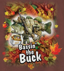 Bassin' The Buck by Jim Baldwin