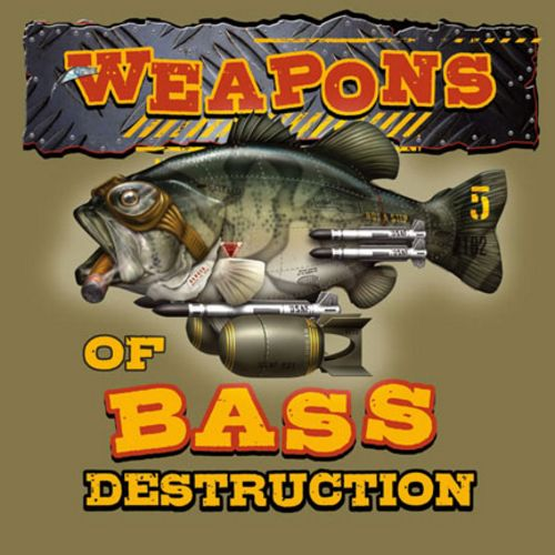 Bass Destruction by Jim Baldwin