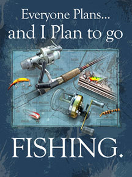 Plan To Fish by Jim Baldwin