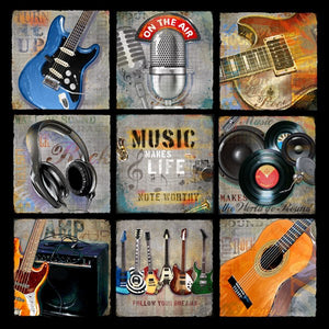 Music Patch - Music Makes Life Note-Worthy by Jim Baldwin