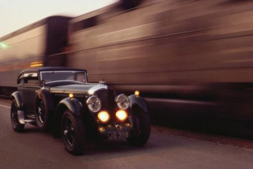 1929 Bentley Speed 6 Coupe by CB Art