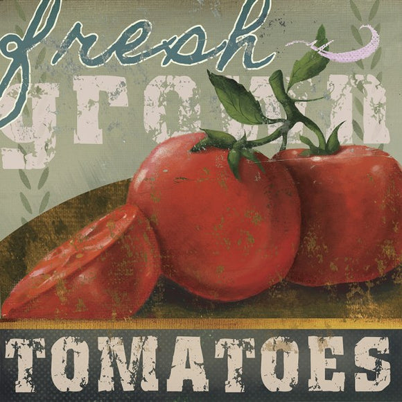 Farm Fresh III Fresh Grown Tomatoes by Fiona Stokes-Gilbert