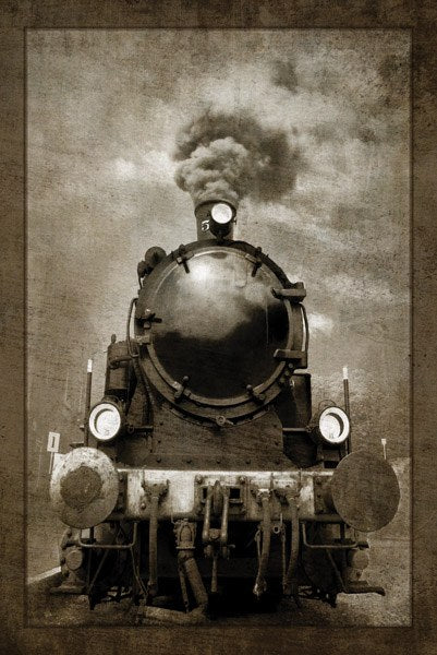Steam Engine Locomotive by GI Artlab