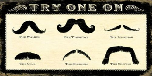 Mustachios by Cory Steffen