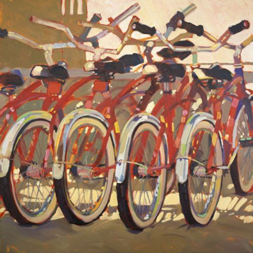 Retro Bikes by Darrell Hill