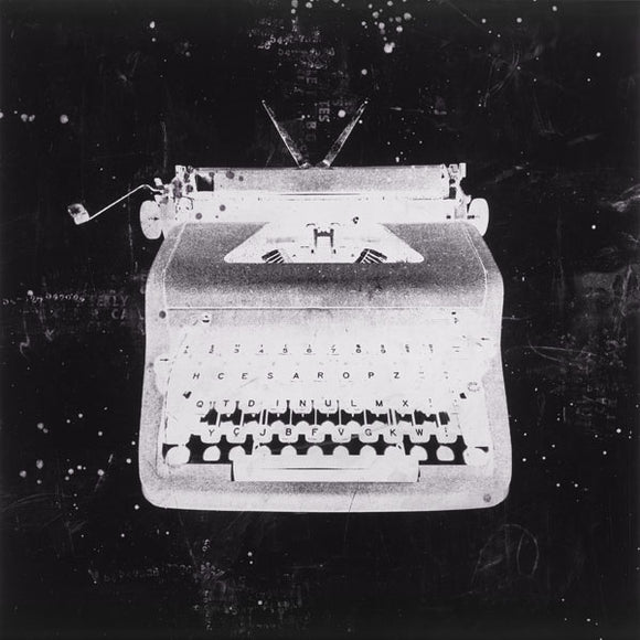 White Typewriter by J.B. Hall