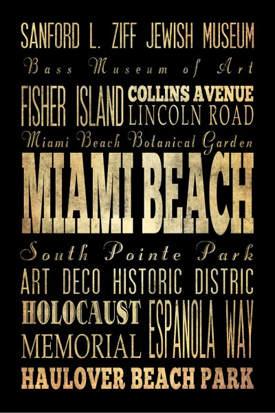 Miami Beach Florida I by Helen Chen