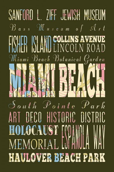 Miami Beach Florida II by Helen Chen