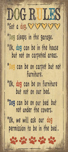 Dog Rules by Jo Moulton