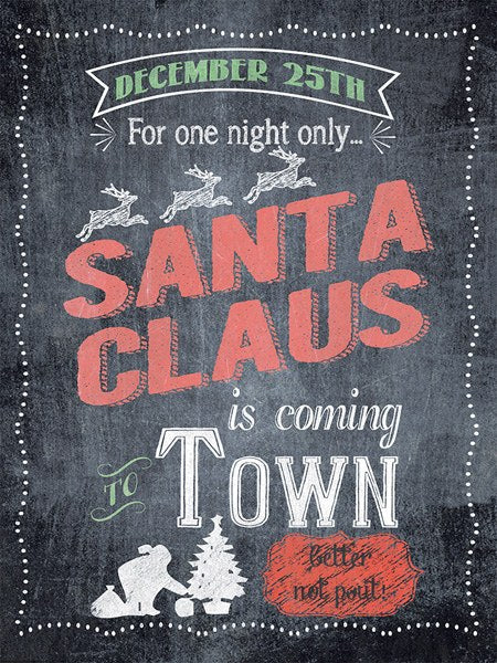 One Night Only - Santa Claus Is Coming To Town by Jo Moulton