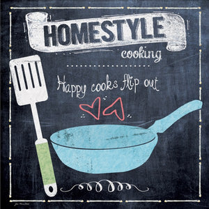 Homestyle Cooking Happy Cooks Flip Out by Jo Moulton