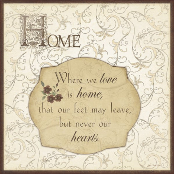 Where We Love Is Home by Jo Moulton