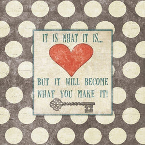 It Is What It Is But It Will Become What You Make It! by Jo Moulton