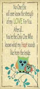 Owl Love You by Linda Baker-Hardy