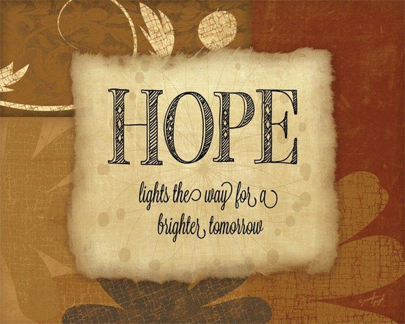 Hope lights the way for a better tomorrow by Jennifer Pugh