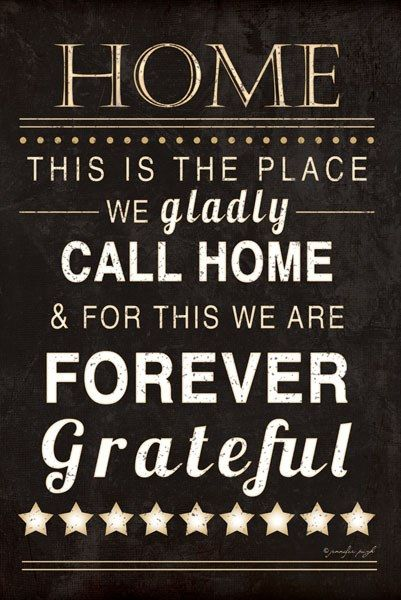 Home Forever Grateful by Jennifer Pugh