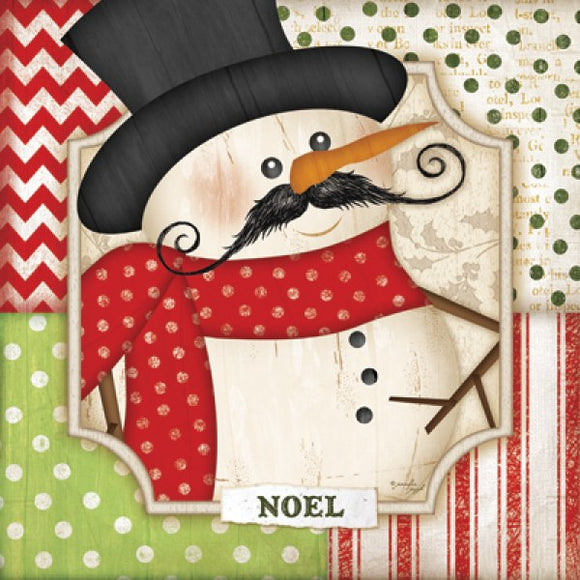 Noel - Snowman by Jennifer Pugh