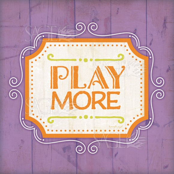 Play More by Jennifer Pugh