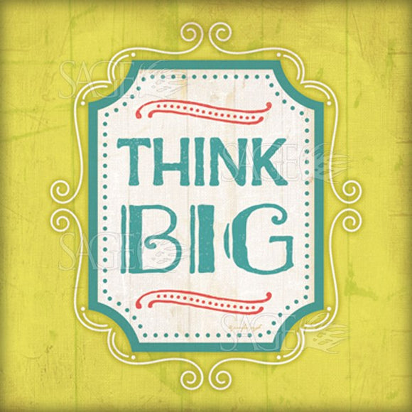 Think Big by Jennifer Pugh
